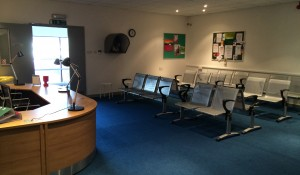 Outpatients Reception / Waiting Area